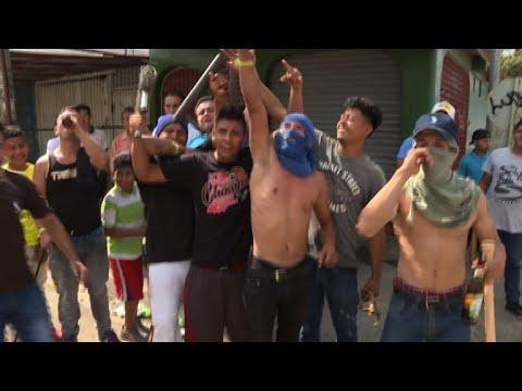 Armed vigilantes roam Nicaragua's capital