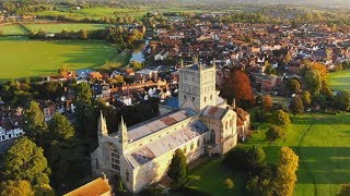 Tewkesbury Abbey and Town