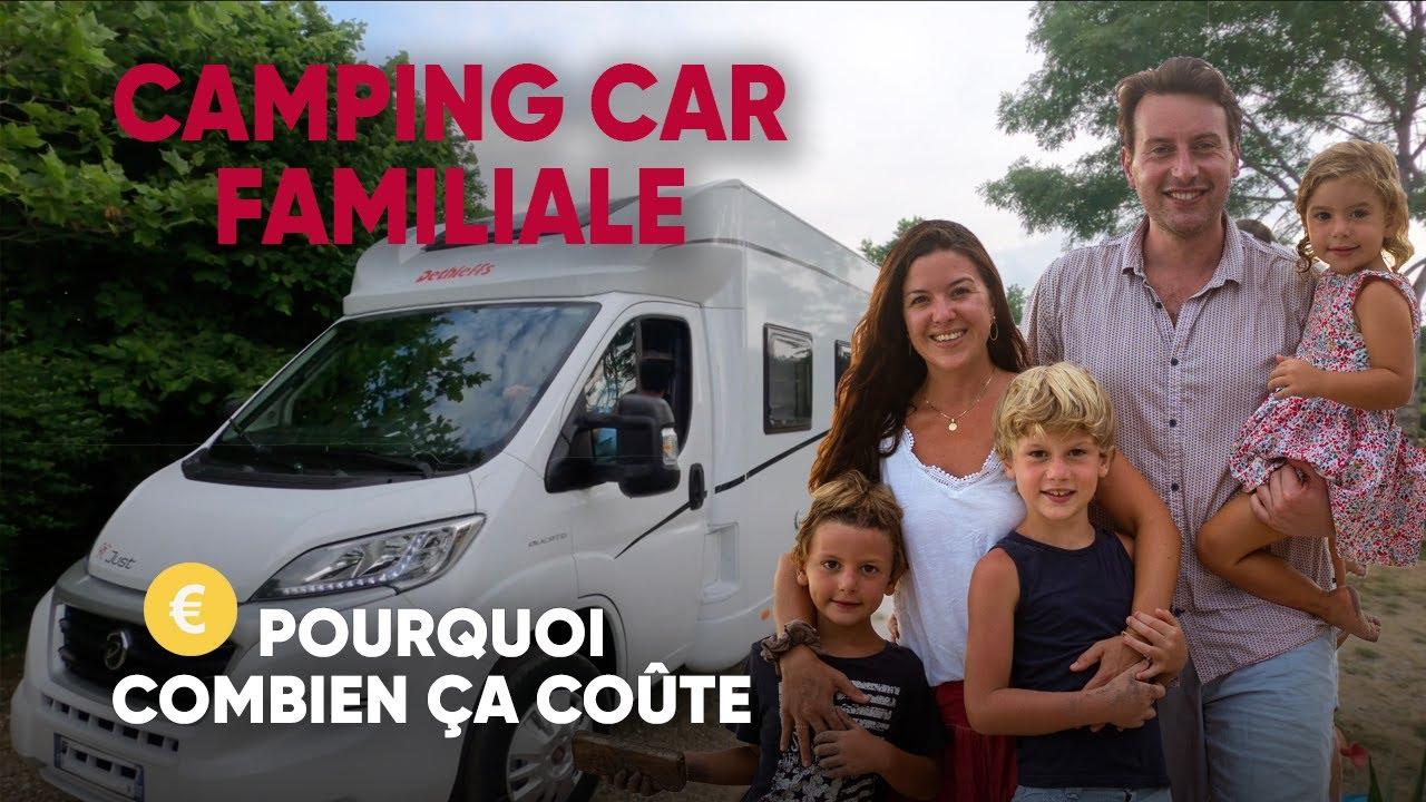 Nous avons ACHETE un CAMPING CAR FAMILIAL tout neuf