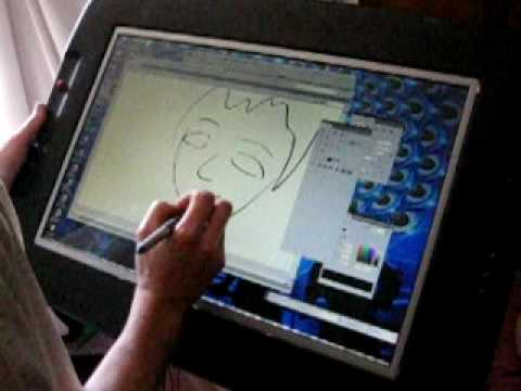 Exotiq Digital Drawing Tablet Demonstration Youtube