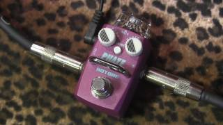 Hotone PHAZE micro mini tiny little phaser pedal of love (demo)