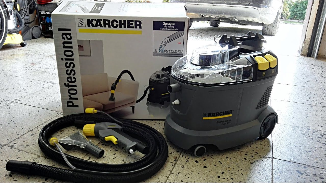 karcher puzzi 8 1c youtube. Black Bedroom Furniture Sets. Home Design Ideas