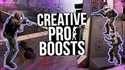 CS:GO - CREATIVE PRO BOOSTS! ft. coldzera, olofmesiter, snax&MORE!