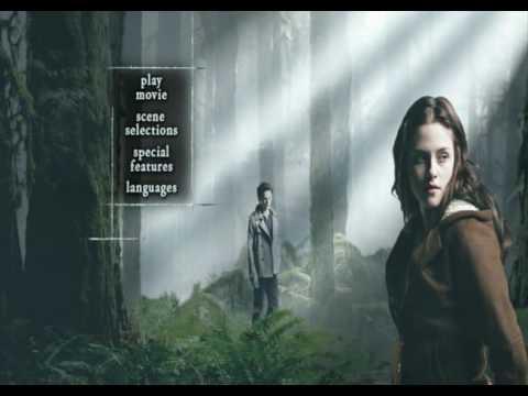 Twilight DVD menu