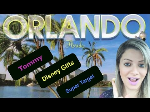 Vlog 1- Tommy Kissimmee, Disney Gifts, Golden Corral e Super Target