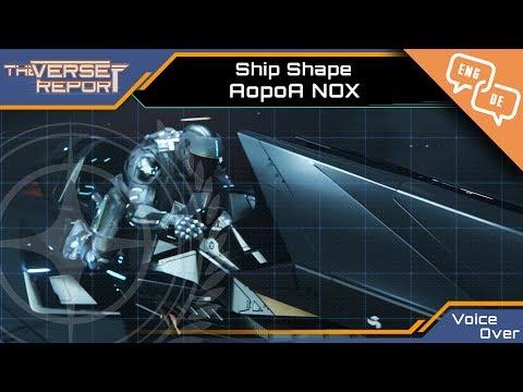 Star Citizen Aopoa NOX Ship Shape Voice Over | Verse Report [Deutsch/German]
