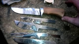 видео ножи охотничьи своими руками