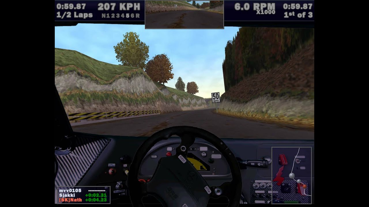 Need for Speed III Hot Pursuit Online Gameplay