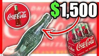 10 EXTREMELY RARE COCA COLA ITEMS WORTH MONEY - VINTAGE ITEMS TO LOOK FOR AT THRIFT STORES