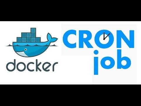 Cron Job integration with docker
