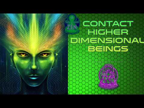 Contact Higher Dimensional Beings Fast! Subliminal Subsconsi