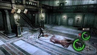 Resident Evil 5 Lost In Nightmares DLC Classic Cam Gameplay 2 HD 720p