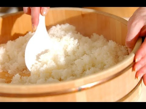 Как готовят в Японии рис для суши. Как вкусно приготовить рис.