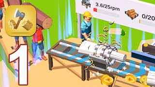 Idle Lumber Mill - Gameplay Walkthrough Part 1 (Android,iOS)