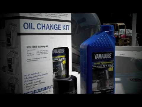 Yamaha Boating Tip - Oil Change