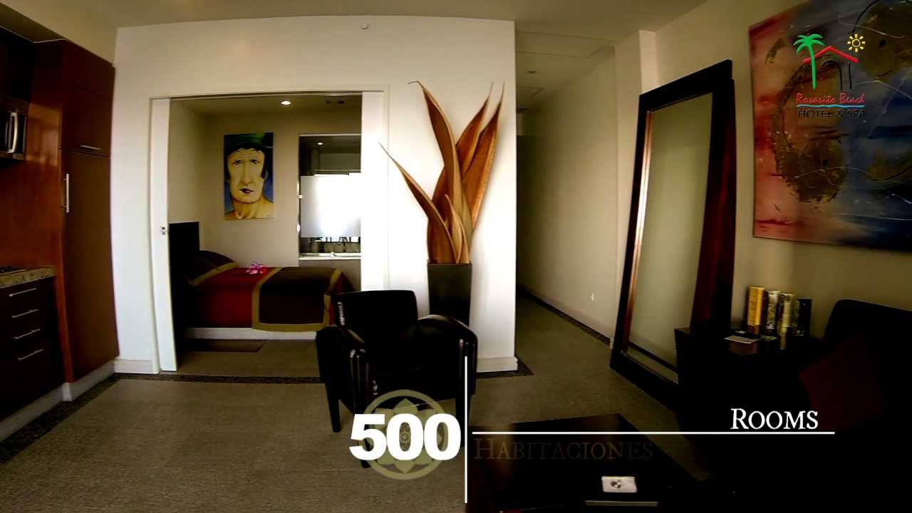 Habitaciones  Rosarito Beach Hotel  YouTube