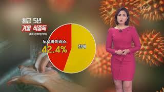 [날씨와 생활정보] 추워질수록 기승…'노로바이러스'란? thumbnail