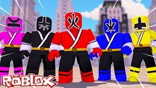 VIREI UM POWER RANGERS no ROBLOX (Power Rangers in Roblox) ‹ Frango ›