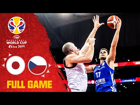 Japan go toe to toe with the Czech Republic - Full Game - FIBA Basketball World Cup 2019