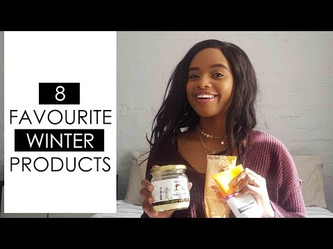 8 FAVOURITE WINTER PRODUCTS!