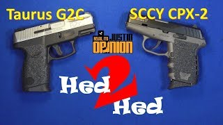 SCCY CPX-2 vs. TAURUS G2C