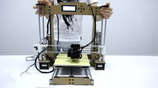 3d printer instruction anet 3d printer a8 automatically adjust levle of hotbed