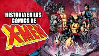 La Historia de los X-Men en los comics // Video Reseña #018