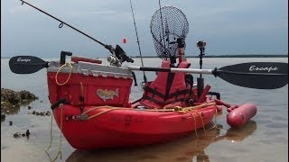 Poor Man's Fishing Kayak Rigging Update 2014