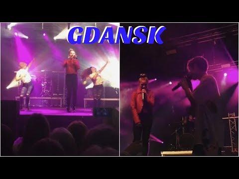 EUROPE TOUR GDANSK, POLAND | MACKENZIE ZIEGLER AND JOHNNY ORLANDO