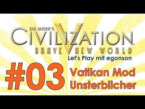 Civilization V Vatikan Mod #03 - Urbison et Orbison