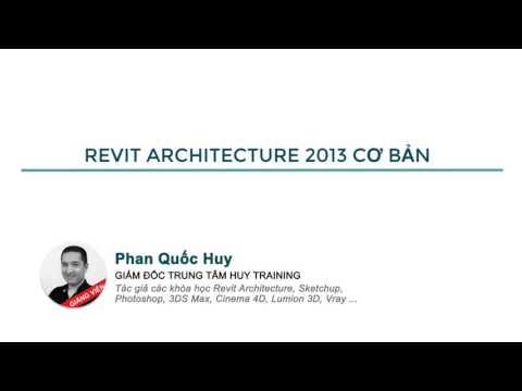 Giới thiệu khóa học Revit 2013 cơ bản