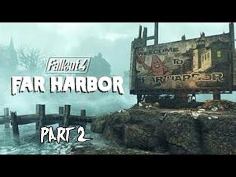 Fallout 4 Far Harbor DLC Gameplay Walkthrough Part 2 Let's play Playthrough