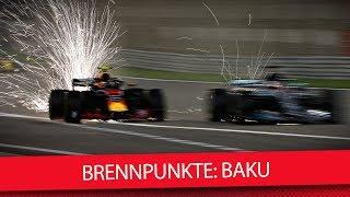 Formel 1 2018: Brennpunkte vor dem Aserbaidschan GP