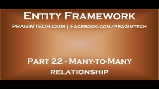Varlık Bölüm 22 çok-Çok ilişki çerçevesi