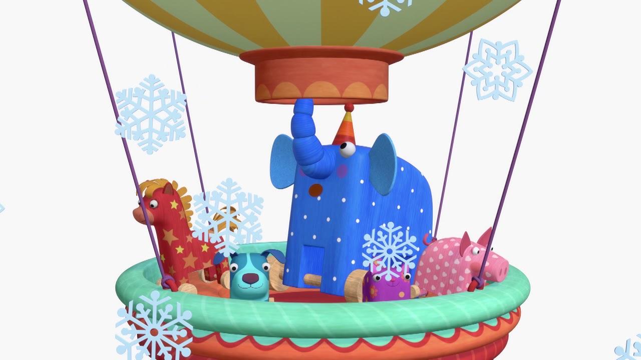 Теремок песенки для детей — Деревяшки: Полет (Про игрушки)- Мультики для детей и малышей