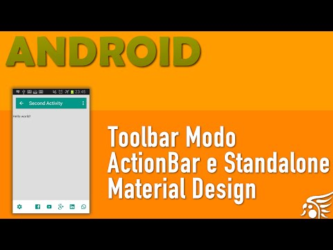 Toolbar, Material Design Android - Parte 1