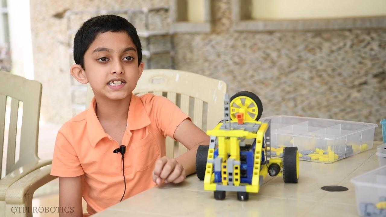 Qtpi Robotics Workshop Lakedew Kids Talk Youtube