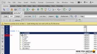 : PHP kullanarak basit bir Web formu Oluşturma