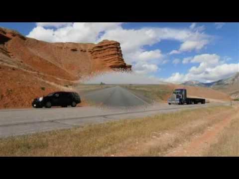 Routes de l'ouest américain.