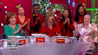 Joy Behar Gives the Gift of Lasagna! | The View