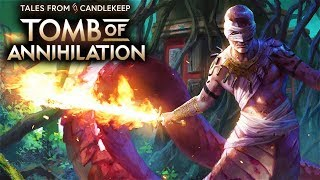 Tales from Candlekeep: Tomb of Annihilation Gameplay - Dungeons & Dragons Turn-based RPG