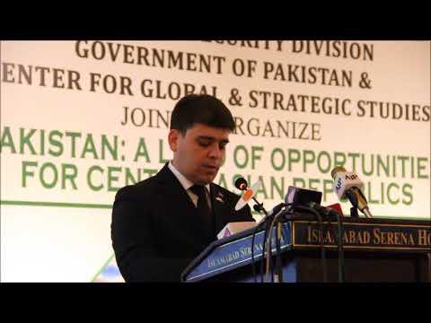 Mr  Merdan Bayramdurdyyev, Deputy Minister of Finance and Economy of Turkmenistan