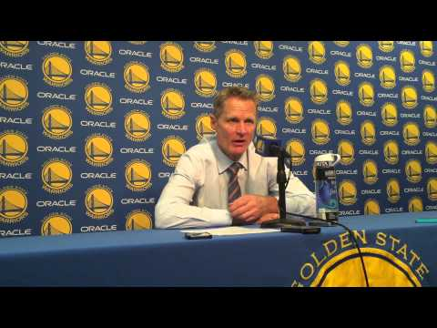 Steve Kerr's Reaction To Steph Curry's Ridiculous Shot
