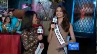 Miss Universo 2013 Gabriela Isler en Despierta America