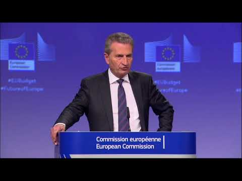 #EUBudget: 'We've made a proposal for new own resources' Oettinger