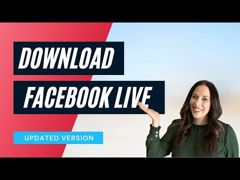 How to Download a Facebook LIVE Video: Updated 2020