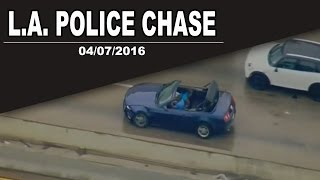 Best of Funny & Hilarious Police Chase | 04/07/2016 L.A.