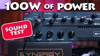 SYNERGY Poweramp SYN5050 AUDIO TEST