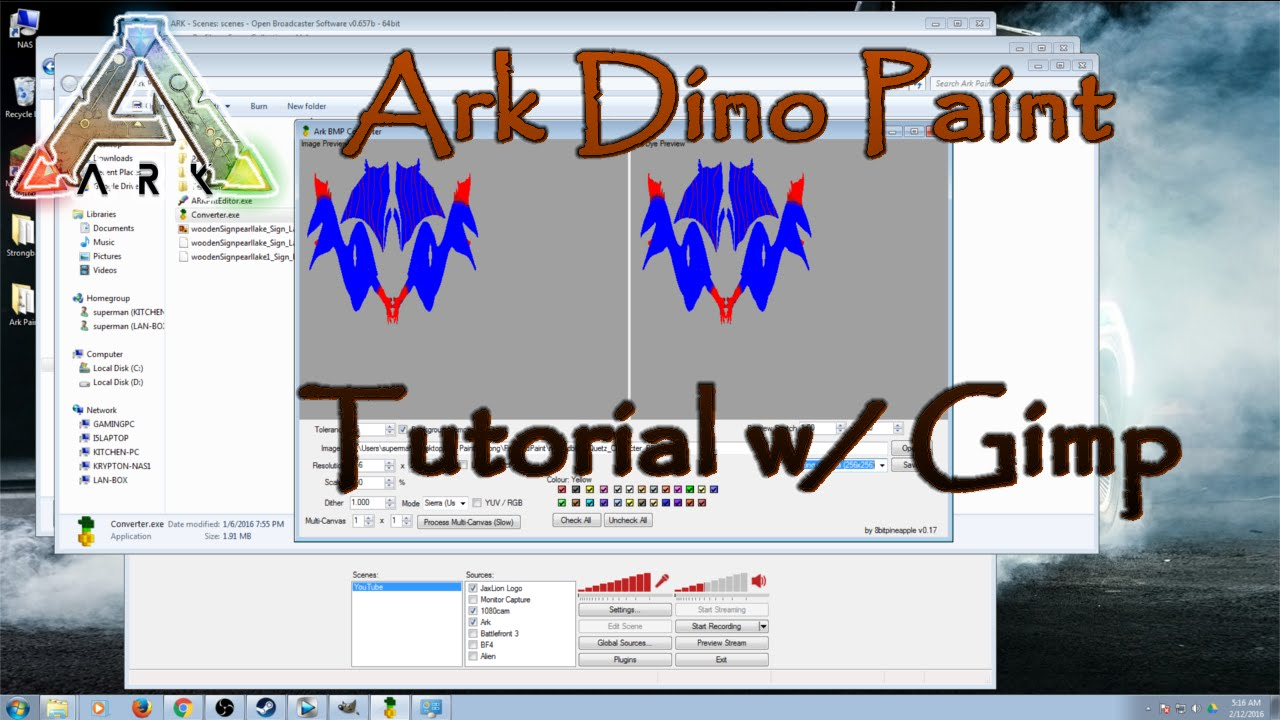 How To Remove Paint Ark