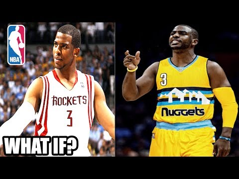 What If Chris Paul joined The Houston Rockets or Denver Nuggets? NBA 2K17